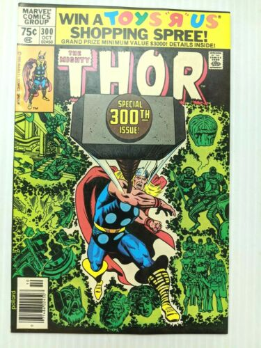 THOR #300 OCT 1980 Marvel Odin and Destroyer ORIGINS NM