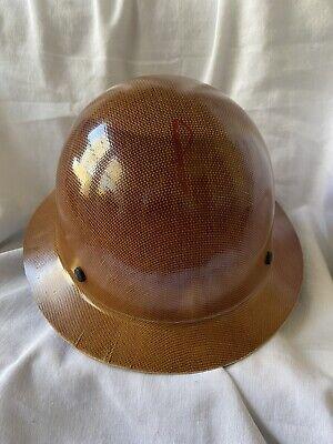Msa 475407 Skullgard Hard Hat With Fas-trac Suspension - Natural Tan