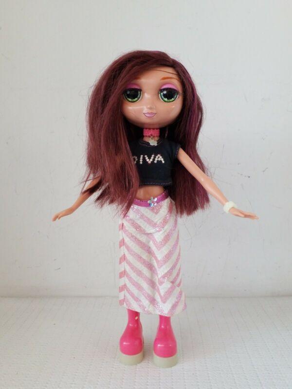 Mattel 2001 Fashion Diva Starz Nikki Glow in the Dark Talking Doll