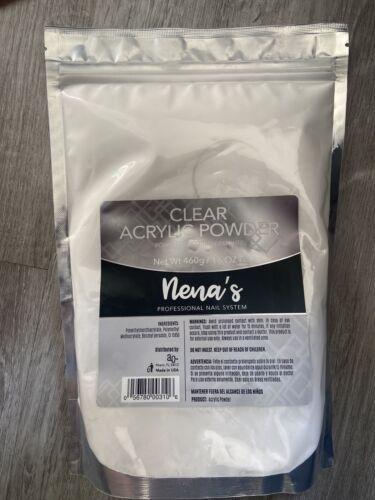 Nena's Acrylic Powder Professional Acrylic Nail System 16oz