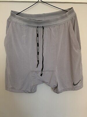 "Nike Running Division 2 In 1 Flex Stride 7"" Running Shorts Size Medium"