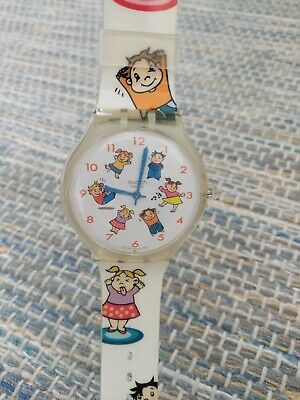 2005 Swatch Touch Watch STGK107 A casa do Gil - Rare Realesed in Portugal only