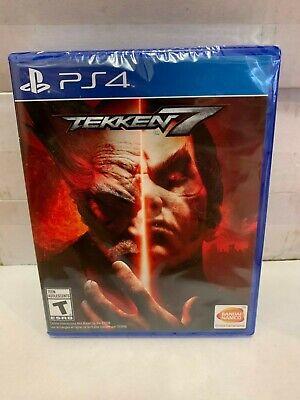 Tekken 7 PS4 Sony PlayStation 4 Video Game Brand New Sealed Region Free Bandai