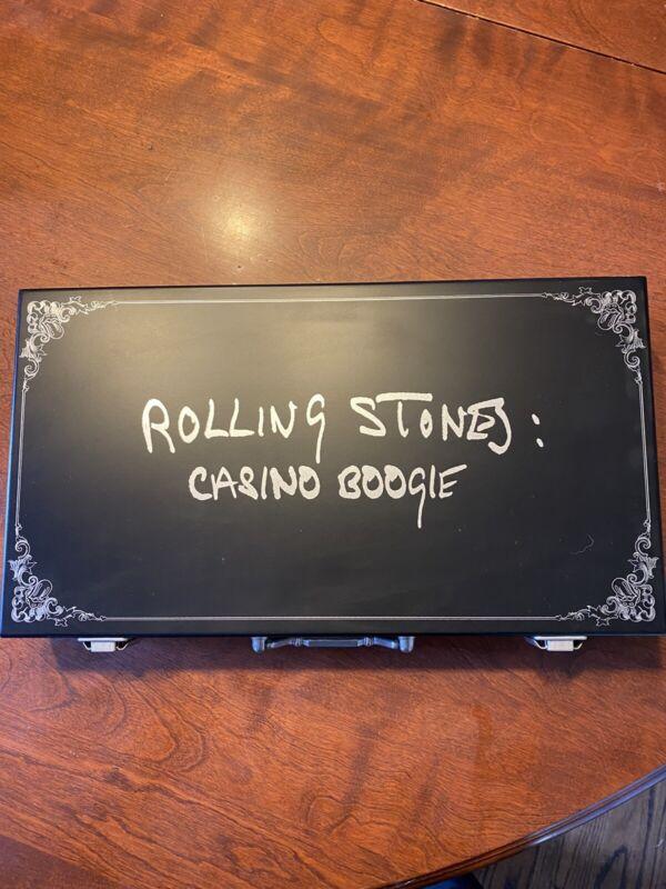 Rolling Stones Casino Boogie Poker Chip Set!!!