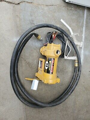 Tuthill Fill Rite 12 Volt 13 Gpm Fuel Transfer Pump Whose Handle 1200c Bx-198
