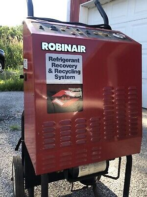 Robinair 17400 Ac R12 Air Conditioning Machine Recovery Recycle