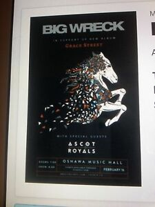 WANTED BIG WRECK TICKETS OSHAWA