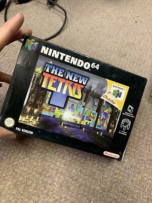 The New Tetris - Nintendo 64 N64 Game [PAL] Boxed with manual CIB