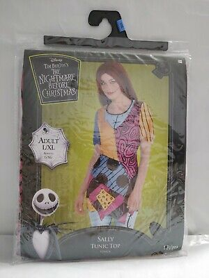 Disney The Nightmare Before Christmas Sally Tunic Top adult L/XL #844