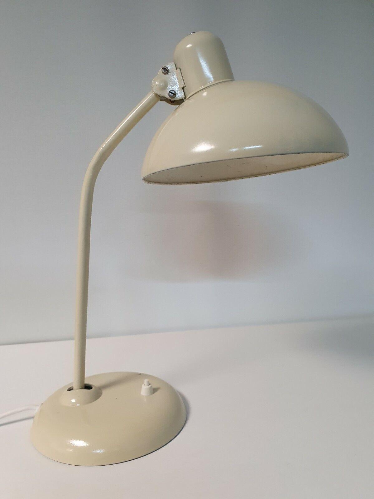 Kaiser Idell Werkstattlampe alte Tischlampe Original 6556T Schreibtischlampe