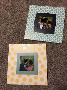 "9 1/2"" x 9 1/2 "" Holds 4 x4""'photo"