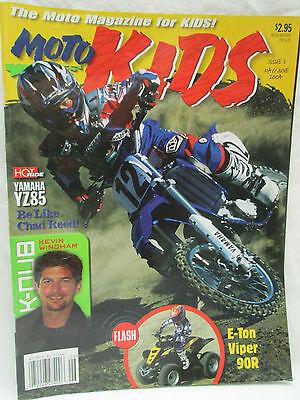 Moto Kids Magazine May June 2004 Dirt Bike Motocross Yamaha YZ85 Chad Reed