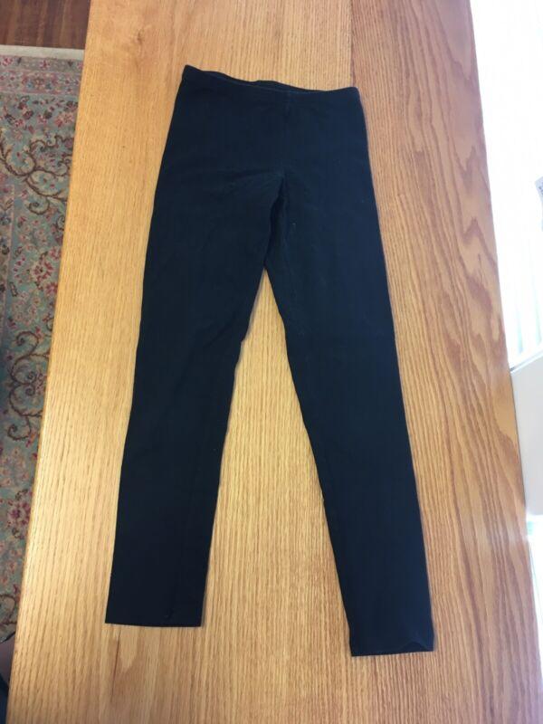 Old Navy Girl Black Stretch Leggings size M (8) EUC