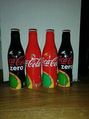 Fifa world cup brazil 2014 Aluminium Coca Cola Bottle Limited Edition UK.