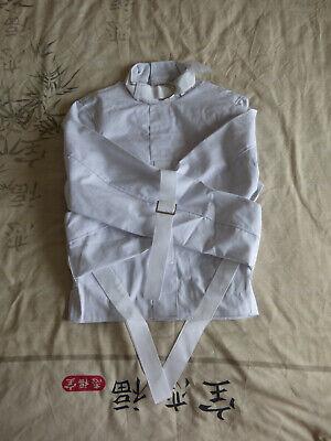 Asylum Straitjacket (big 3XL Asylum Heavy Duty Straitjacket Medical Restraint Thick Canvas Unisex)