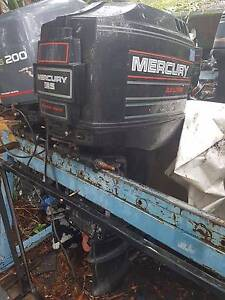 MERCURY MARINER V6 135hp OUTBOARD FOR WRECKING Brisbane City Brisbane North West Preview