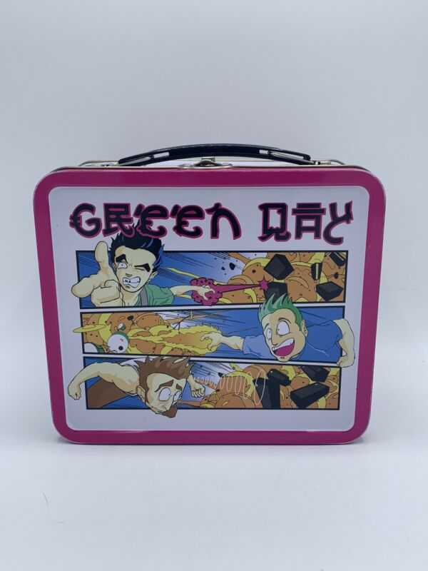 Green Day Lunch Box - 2001 International SuperActionFigures