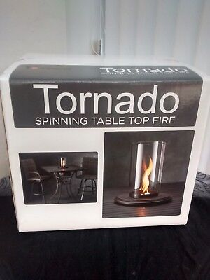 Tornado Spinning Table top  outdoor Fire