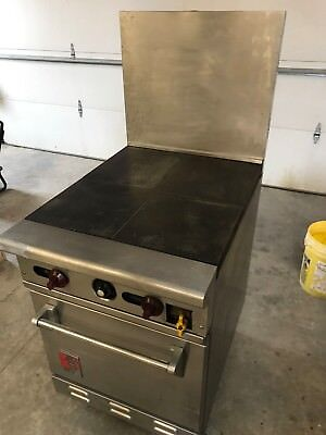 Wolf C24s-1b Natural Gas Hot Plate W Full Size Oven