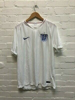 Nike England Football Men's 2018/19 Home Shirt - Various Sizes - White - New