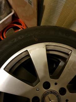 """16"""" Mercedes-Benz alloy wheels"""