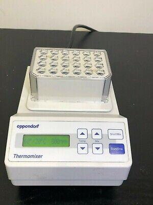 Eppendorf Thermomixer 5350 Shaker 1.5 Ml Block Incubator Orbital Mixer Warranty