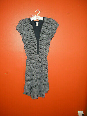 H&M Tunic Dress With Bell Lined Size 12.