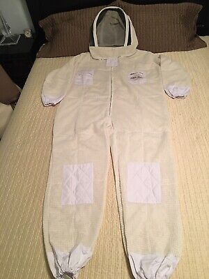 New Ventilated Beekeeping Suit 3 Layer Beesuit Size Large Very Good Quality