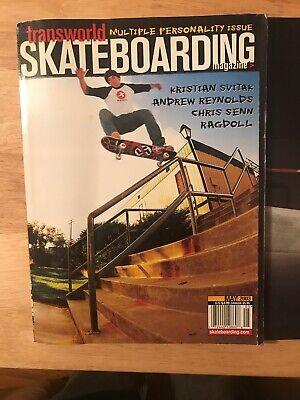 Transworld Skateboarding Magazine May 2003 Kristian Svitak Poster