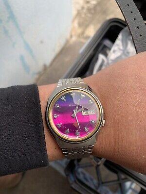 Seiko Vintage Advan 7019-7330 Mens Watch Automatic with original bracelet.
