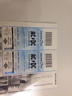 2 x AC/DC Tickets Flagstaff Hill Morphett Vale Area Preview