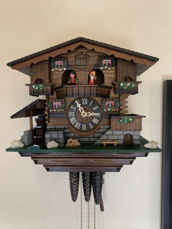 Cuckoo clocks vintage working