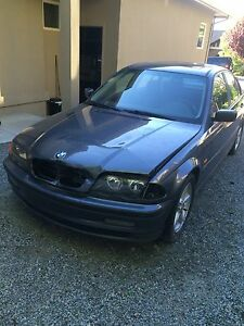 Damaged bmw e46 323i