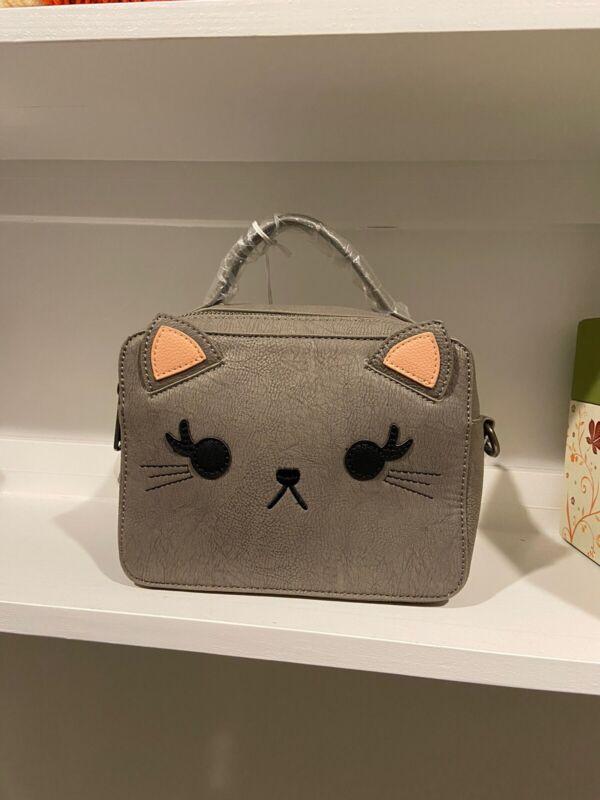 Loungefly Gray Cat Crossbody Purse
