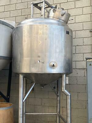 275 Gal Mixing Reactor Stainless Steel Mix Jacketed Tank Insulated