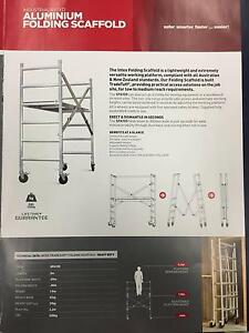 Folding scaffolds & trestle Midvale Mundaring Area Preview