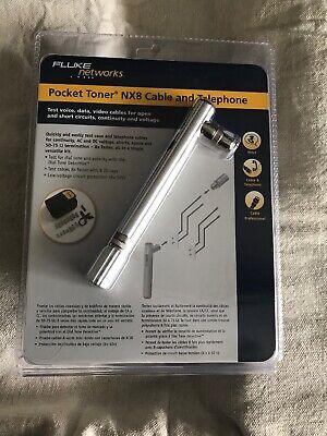 Fluke Networks Pt-nx8 Pocket Toner Coax Cable Tester Telephone Kit Dial Tone