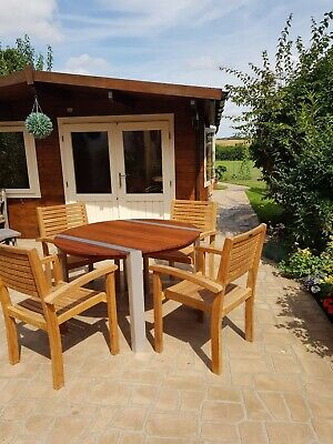 Used wooden garden patio furniture