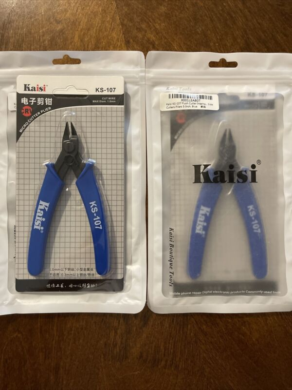 Kaisi KS-107 Micro Cutter Plyer Lot Of (2)