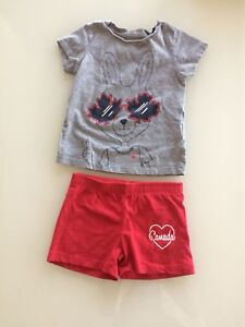 3T Girl Canada Day Outfit and More