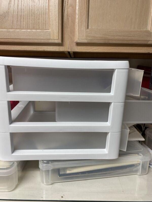 "Fantastic 3-Drawer Craft Paper Organizer 13x13"" Holds Scrapbook Paper!"