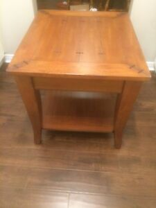 Wooden coffee table or end table