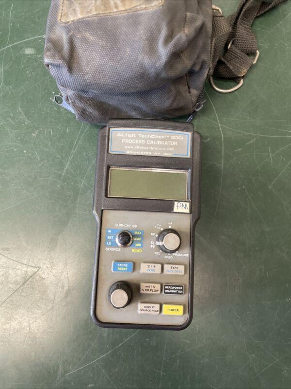 Altek TechChek 830 MultiFunction Process Calibrator K-Type TC cable Parts Repair