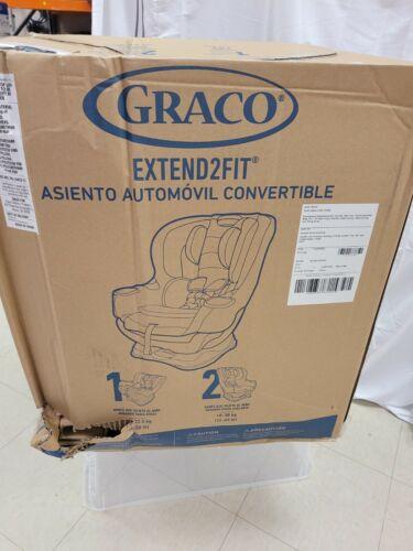 Graco Extend2Fit Convertible Car Seat Ride Rear Facing Longer