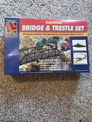 Lifelike Trains Railroad Bridge And Trestle Set