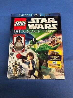Lego Star Wars The Padawan Menace (BLU-RAY/DVD/Digital,2011)Lego