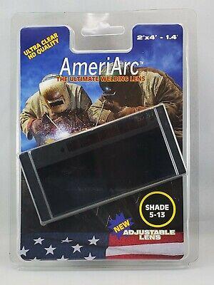 Ameriarc Auto Darkening Welding Lens Now Adjustable Shade