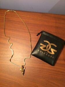18K Gold Plated Chain And Pendant (Necklace)