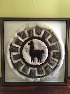 Llama rug portrait Mount Lawley Stirling Area Preview
