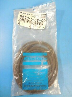 Atlas Copco 0663-7168-00 Replacement O-ring For Atlas Copco Air Compressors 4pk